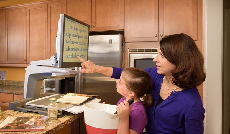 Living with AMD: Home Safety and Reading Aids